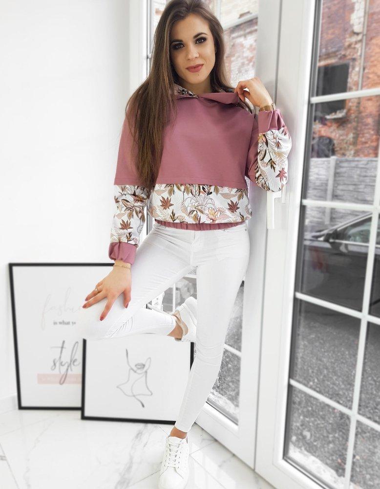 Bluza damska NESSY różowa Dstreet BY0713