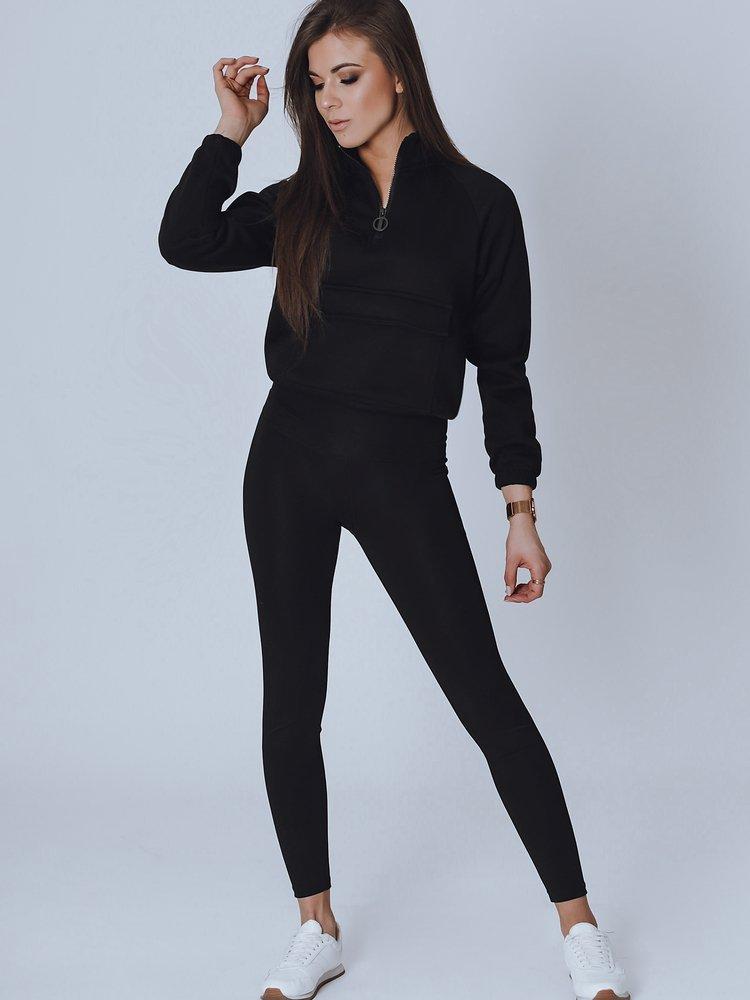 Bluza damska WIRAS czarna BY0855