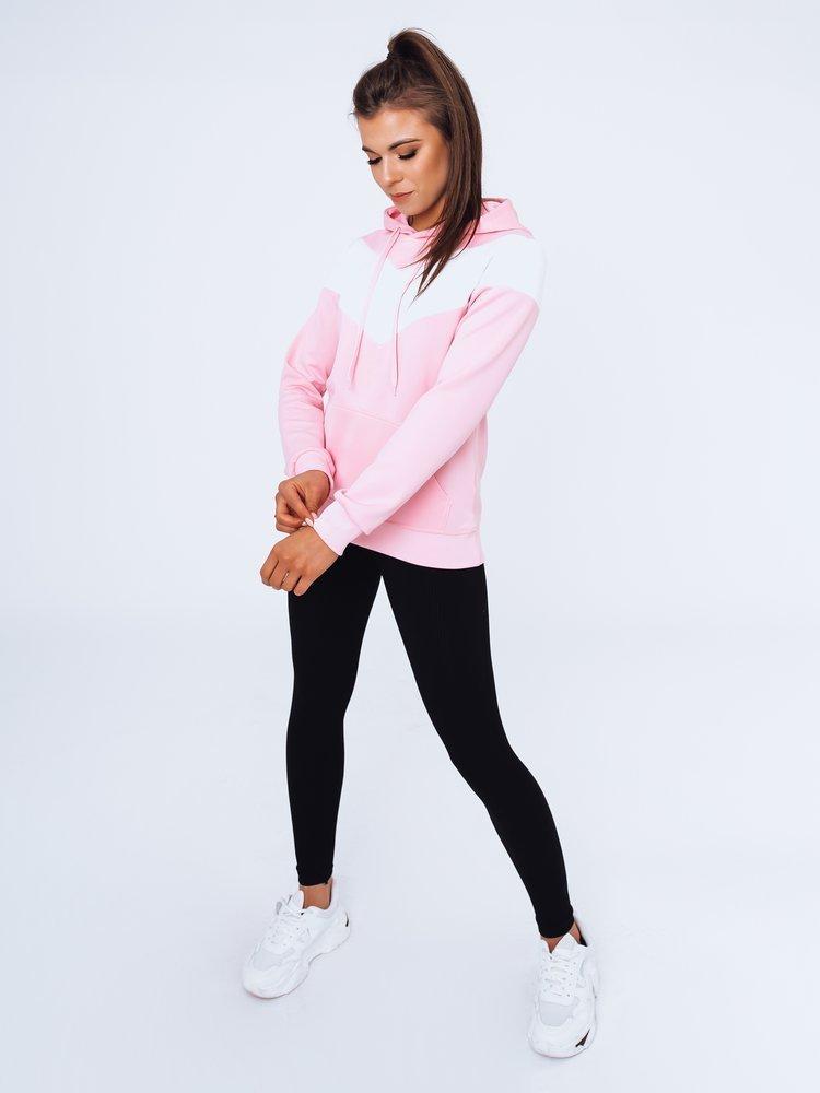 Bluza damska dresowa SELLA różowa Dstreet BY0943