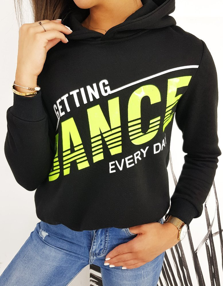 Bluza damska DANCE czarna BY0463