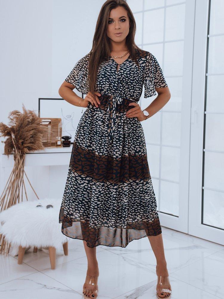 Sukienka MAXI LONI granatowa Dstreet EY1680