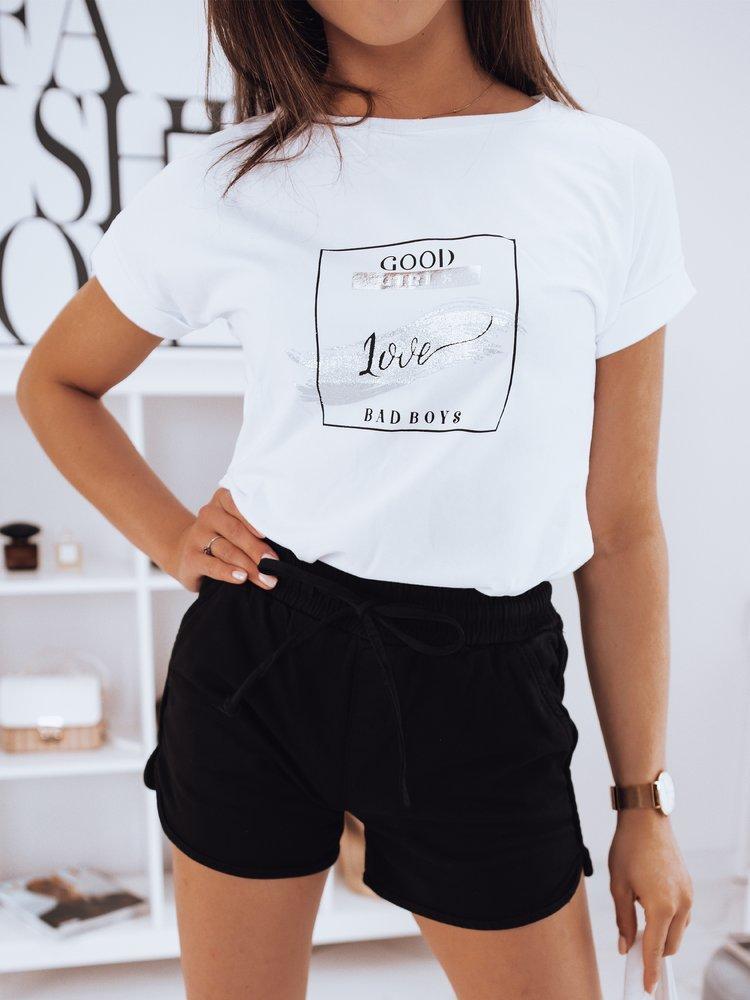 T-shirt damski GOOD GIRLS biały RY1272
