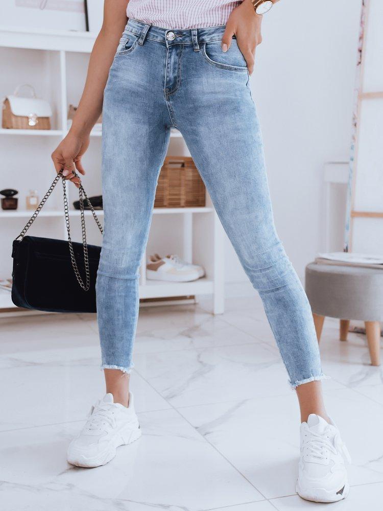 Spodnie damskie jeansowe ARIVI niebieskie Dstreet UY0953