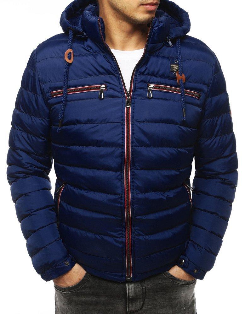 Zimná granátová pánska bunda (tx3092)