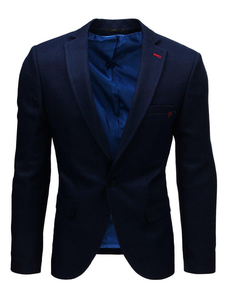 Pánske sako námornícka modrá