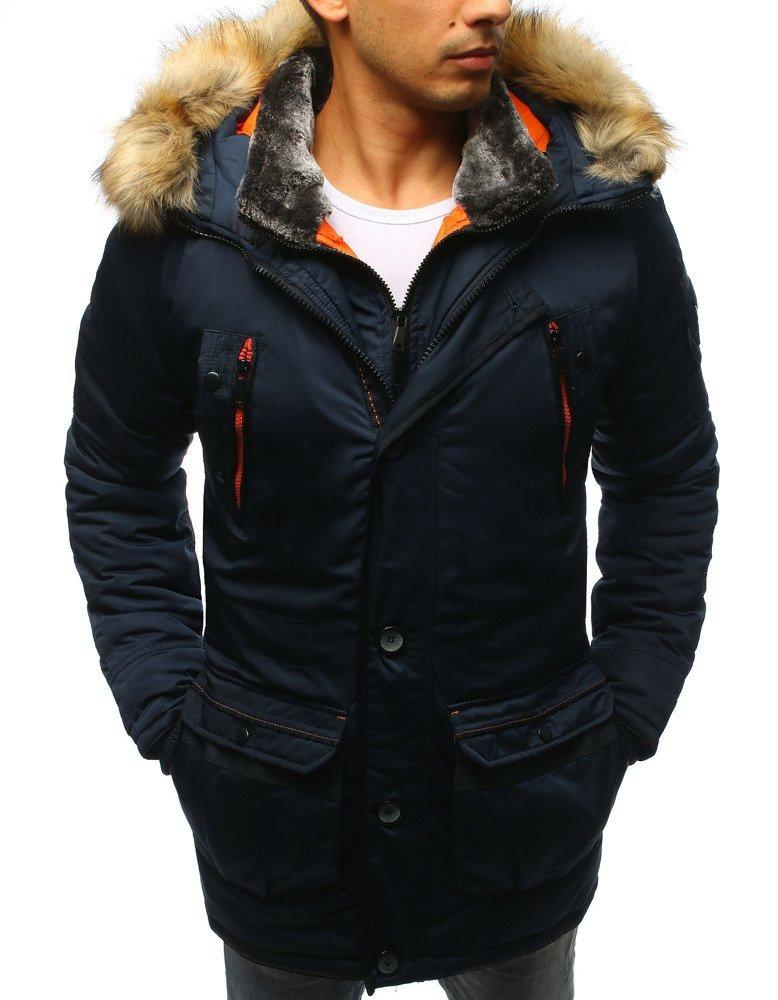 Granátová zimná pánska bunda (tx2983)