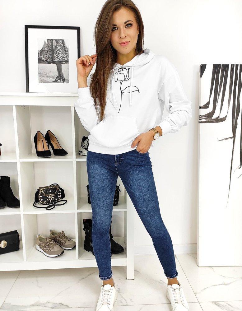Spodnie damskie jeansowe Skinny Fit SONIC niebieskie UY0627