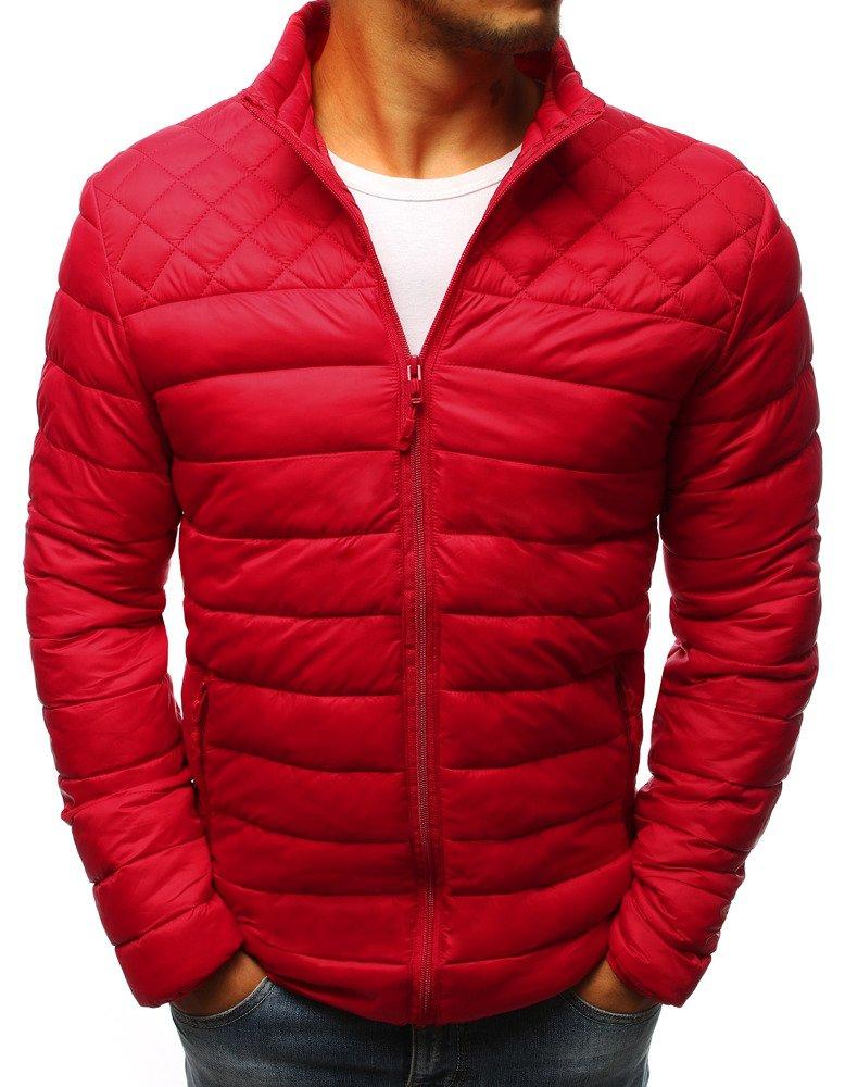 Pánska bunda červená