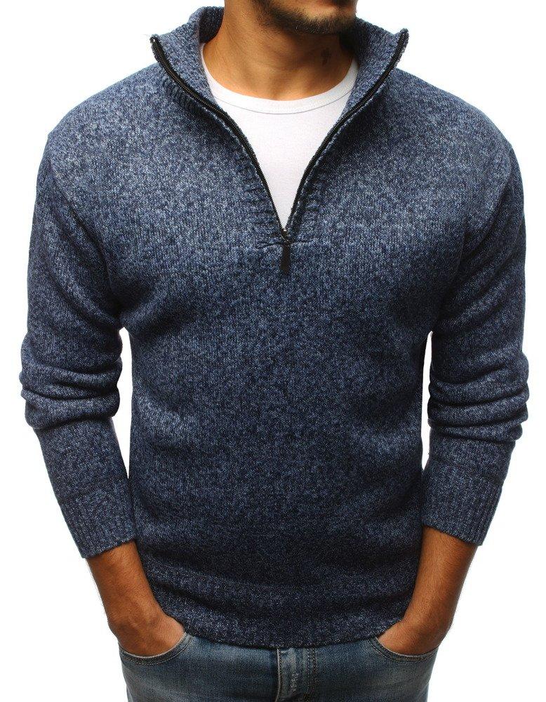 Modrý pánsky sveter (wx1093)