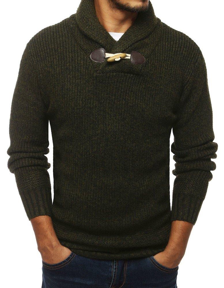 Zelený pánsky sveter (wx1309)