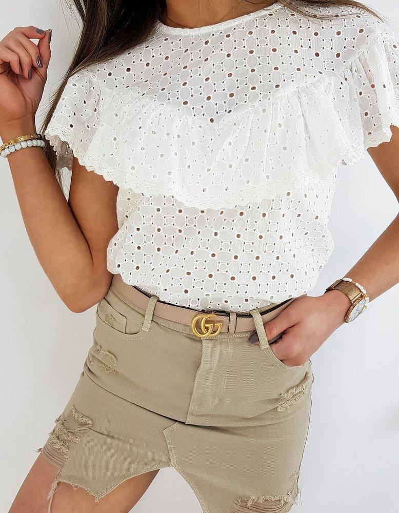 Bluzka damska FILIOSA biała RY1395