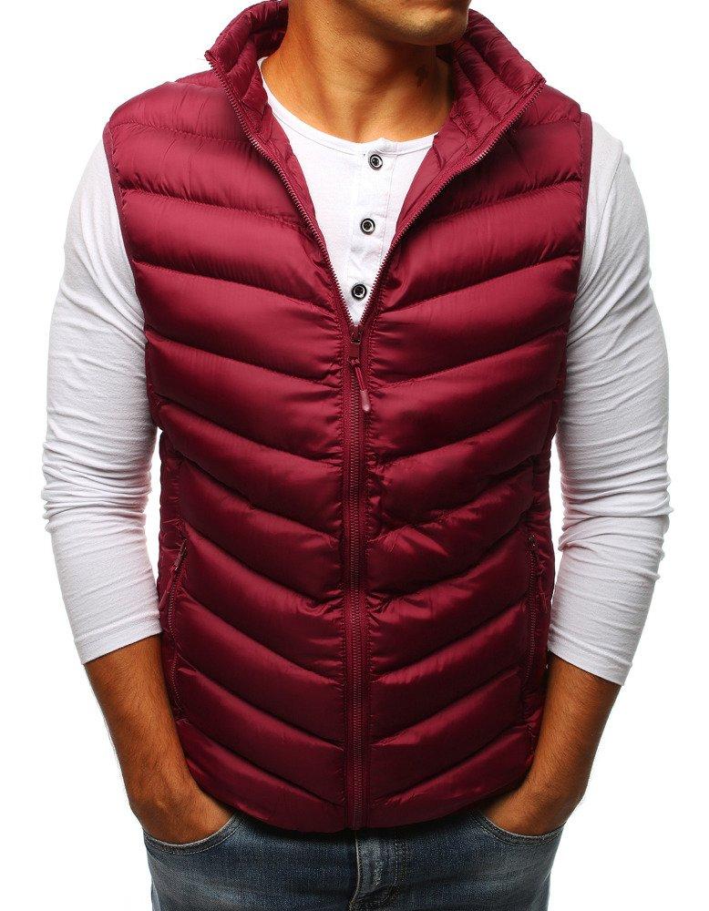 Bordová pánska vesta (tx2302)