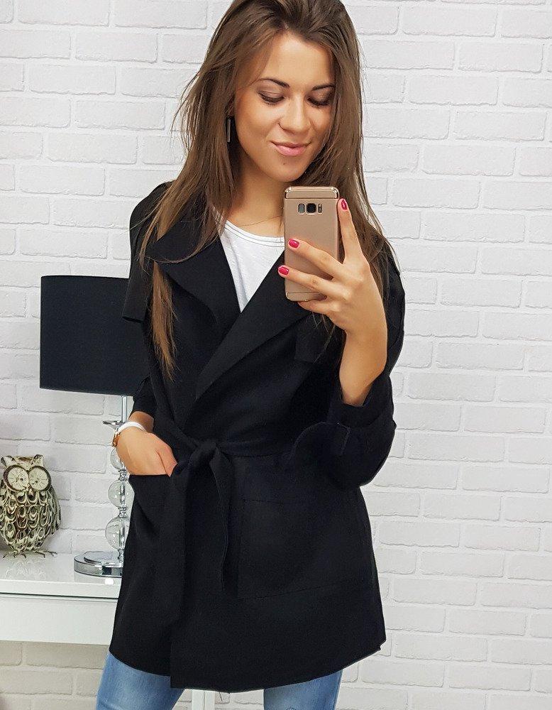Płaszcz damski RUSH BLACK (ny0121)