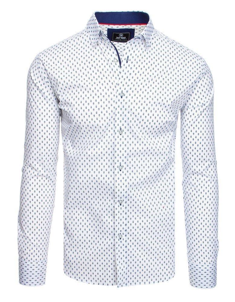 Elegantná košeľa so vzorom