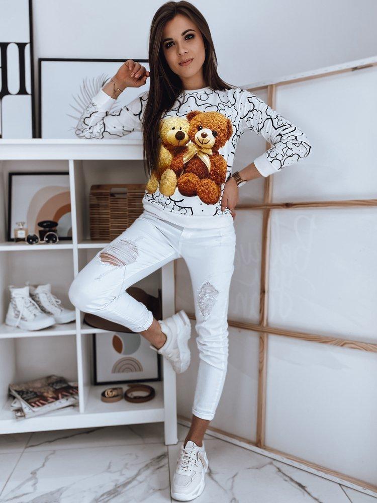Bluza damska ROSEWELL biała Dstreet BY0880