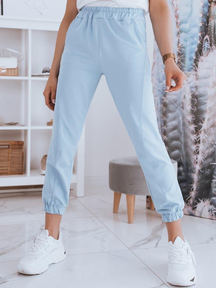 Spodnie damskie dresowe STIVEL błękitne Dstreet UY0930