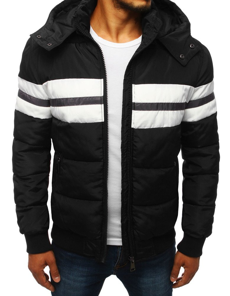 Zimná čierna pánska bunda (tx2843)