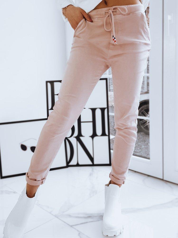 Spodnie damskie VICKY różowe Dstreet UY0736