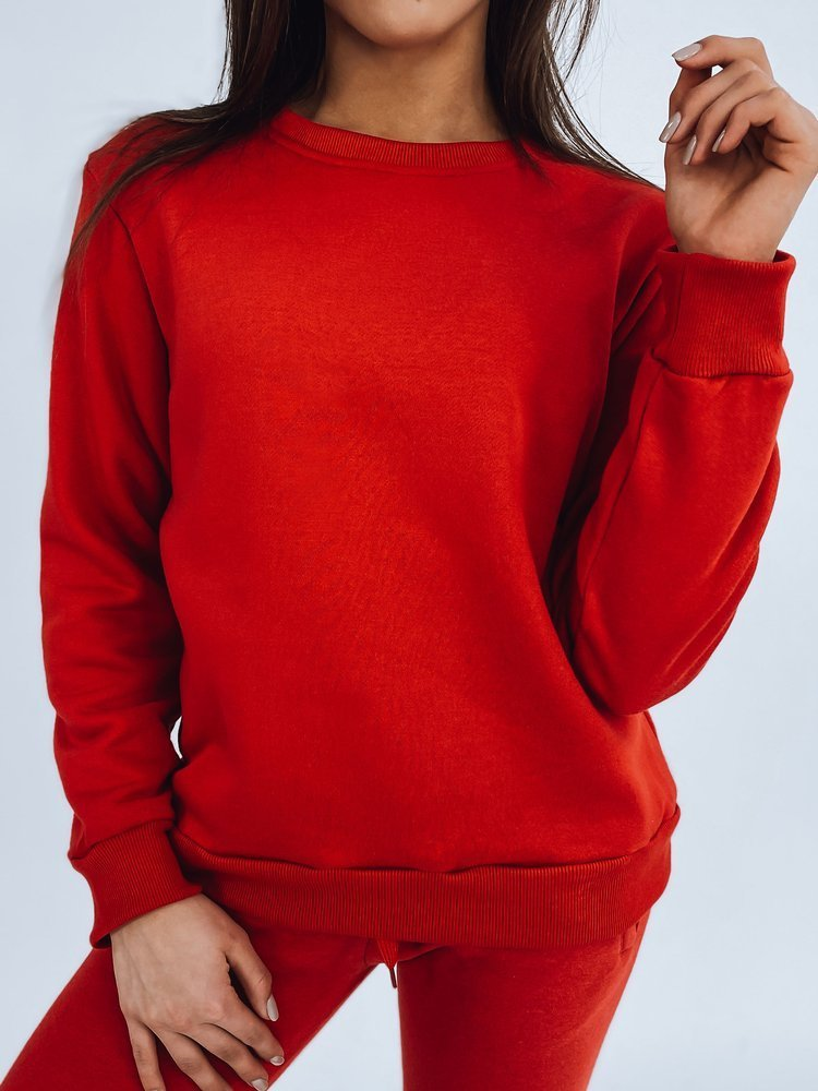 Bluza damska FASHION II czerwona BY0147