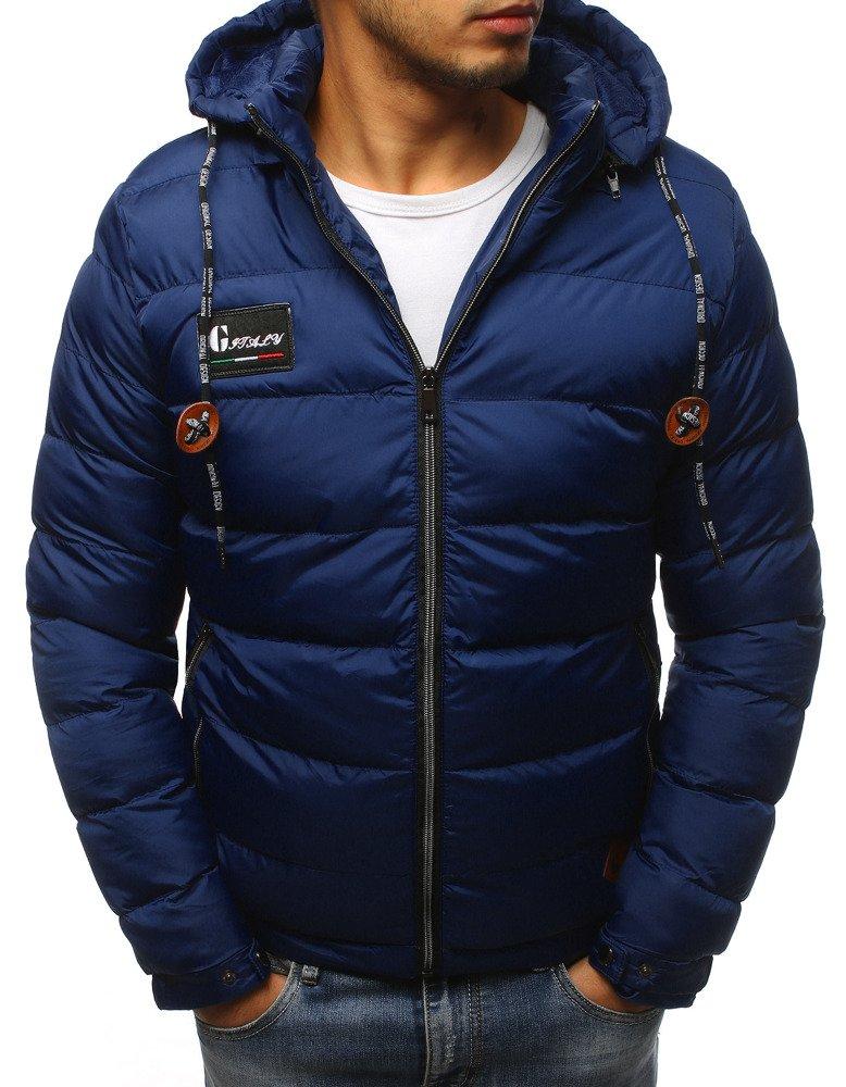 Granátová pánska bunda na zimu (tx2420)