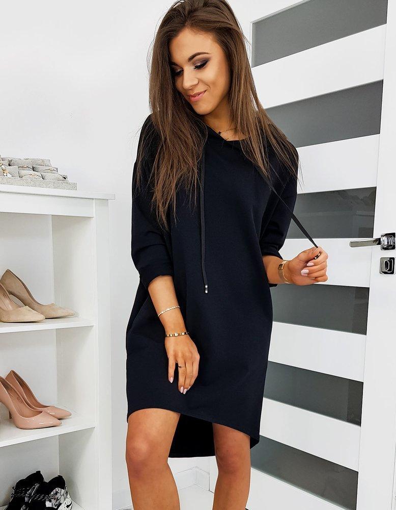 Čierne športové šaty