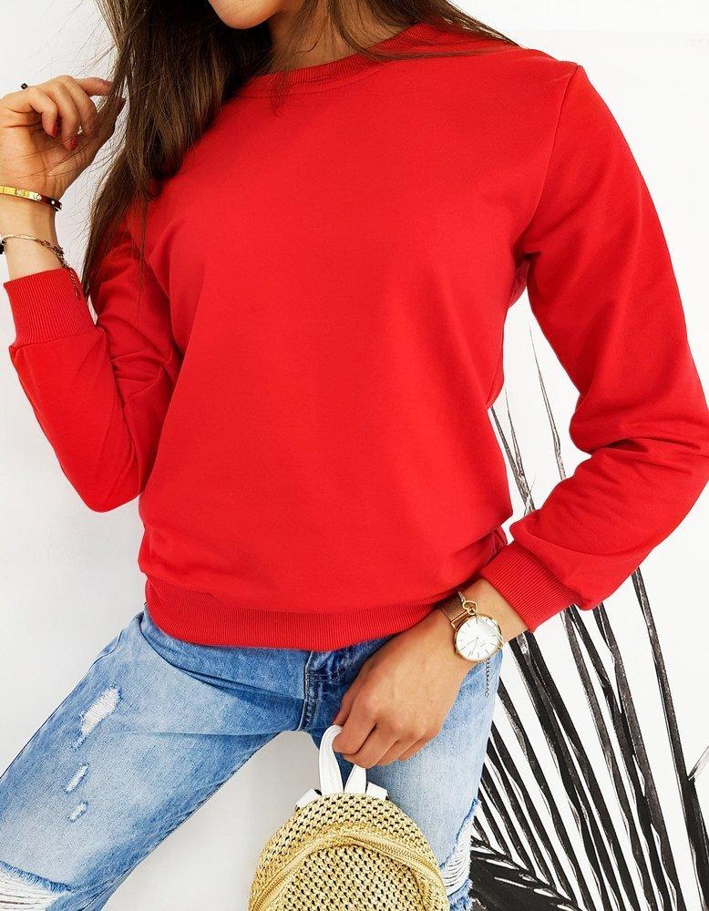 Bluza damska CARDIO czerwona BY0424