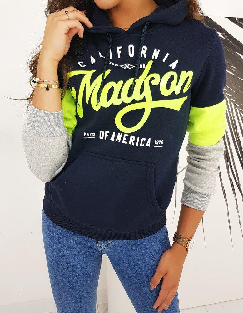 Bluza damska CALIFORNIA granatowa BY0505