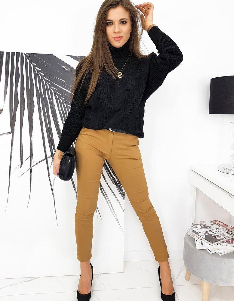 Sweter damski MONZI czarny MY0877