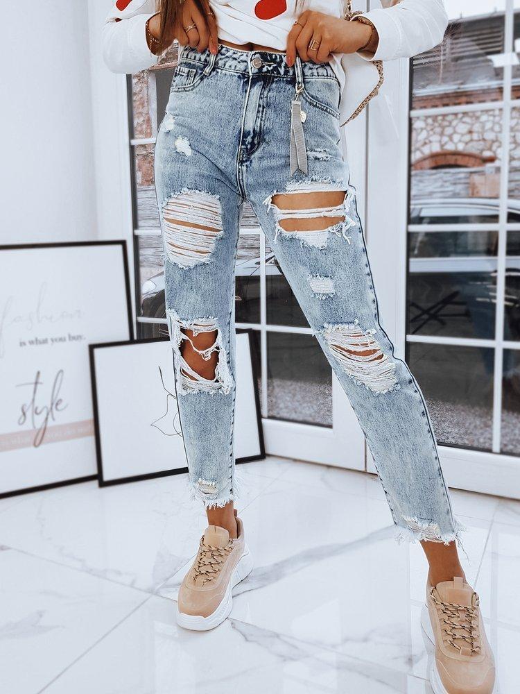 Spodnie damskie jeansowe BUFFALO niebieskie UY0720