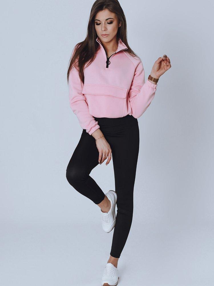 Bluza damska WIRAS różowa BY0856