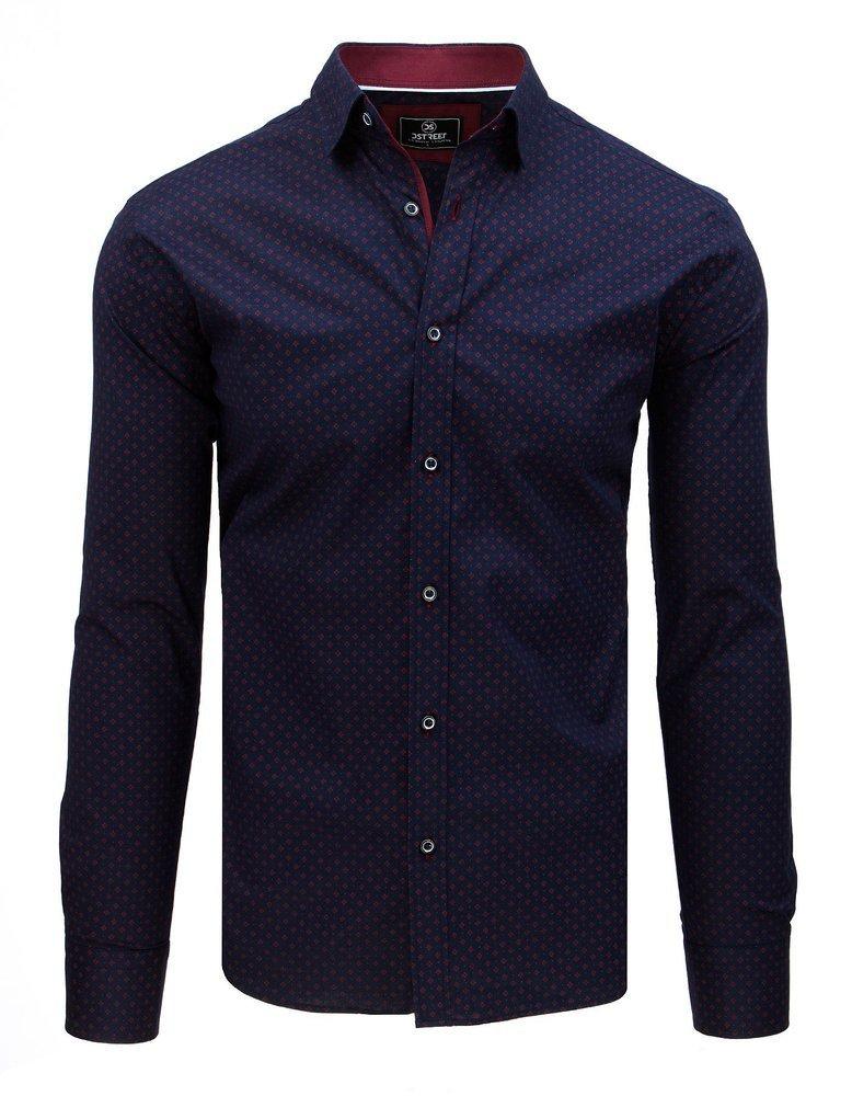Košeľa námornícka modrá