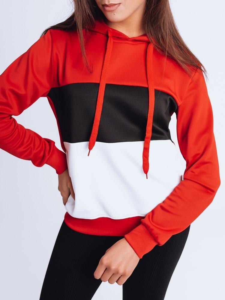 Bluza damska dresowa DERA czerwona Dstreet BY0954