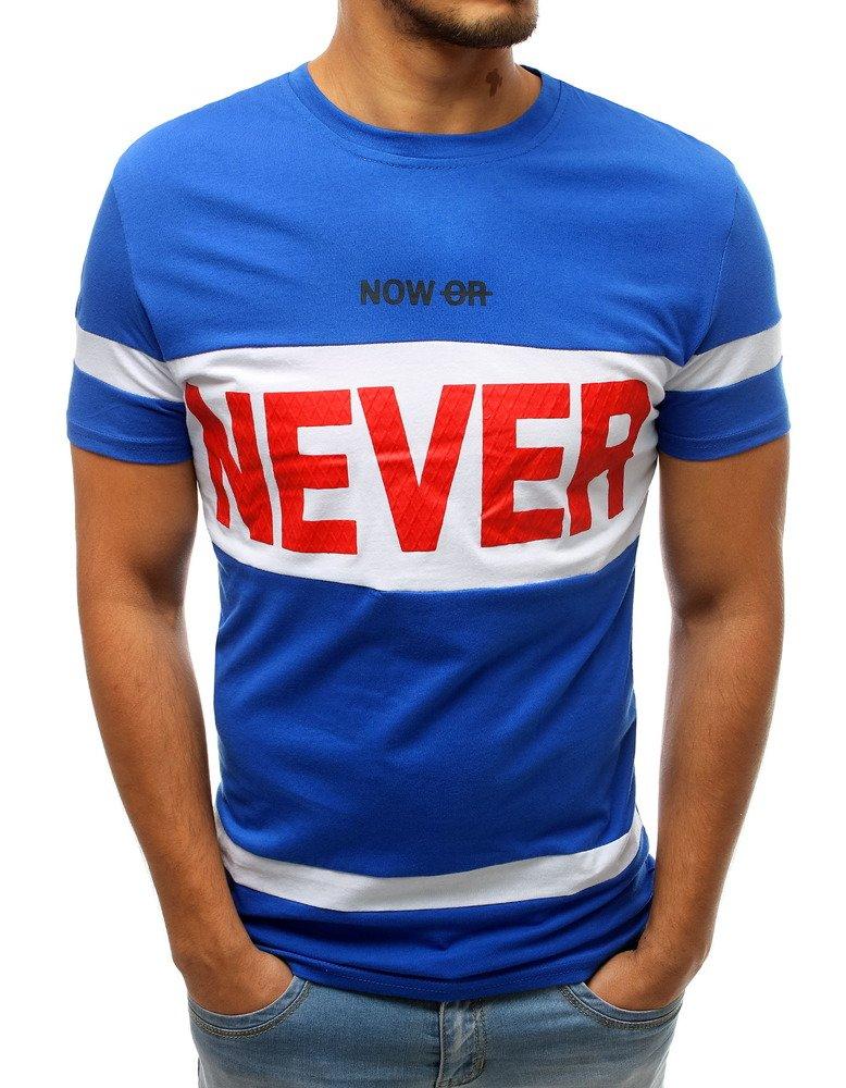 Modré pánske tričko RX3724