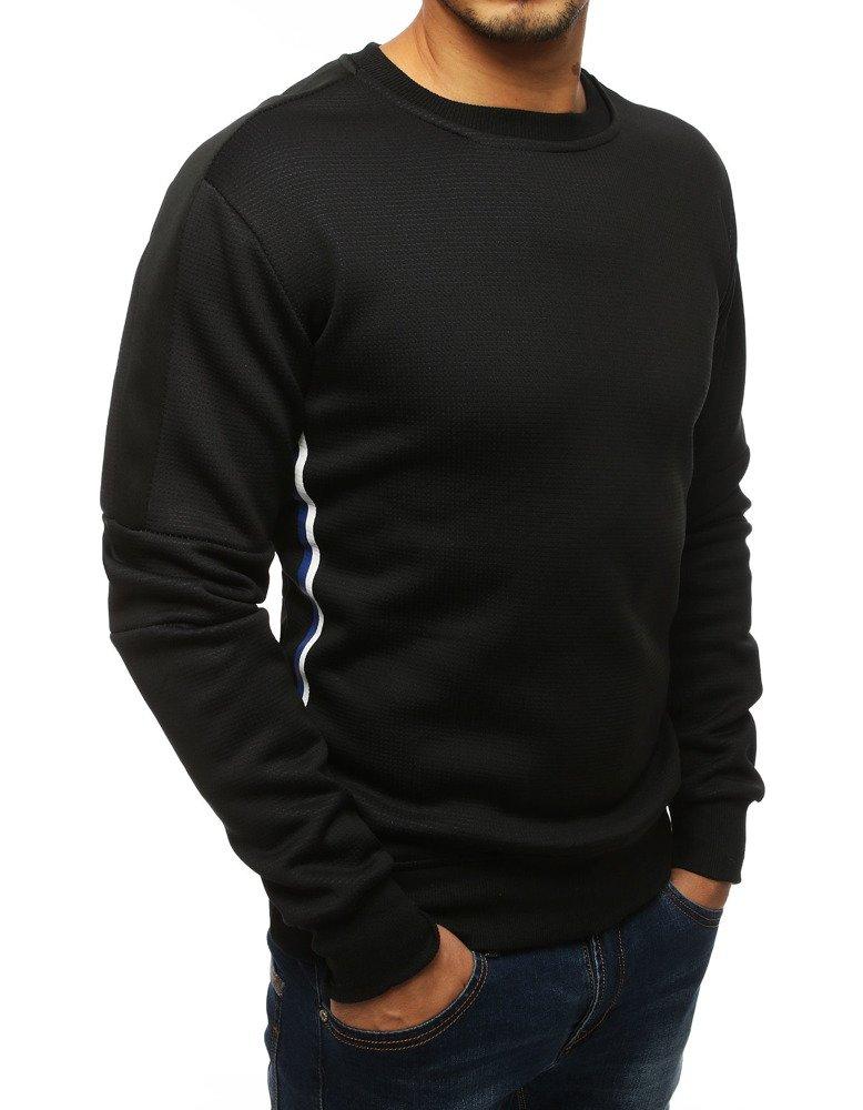 Bluza męska bez kaptura czarna BX4108