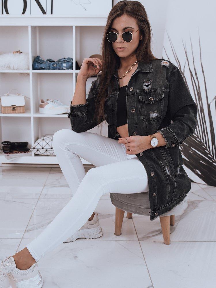 Kurtka damska jeansowa KLARISSA czarna Dstreet TY1835