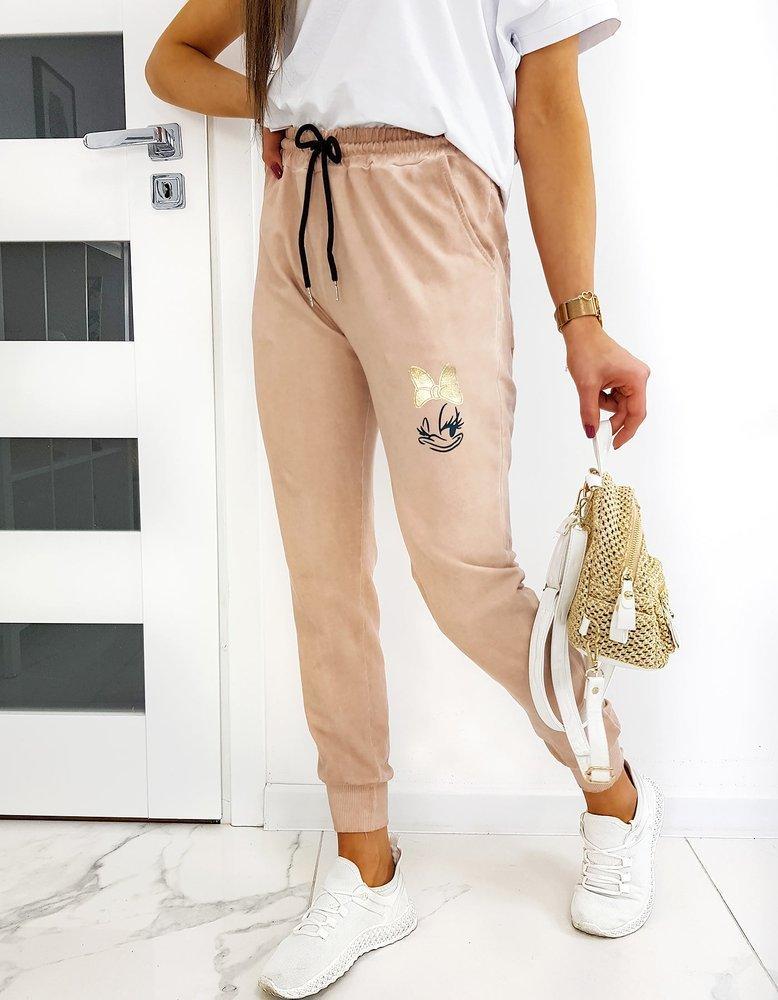 Spodnie damskie dresowe DAISY The Dye powder pink UY0505