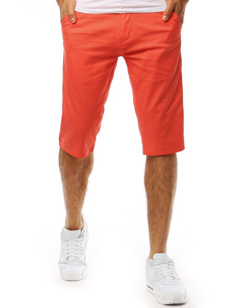 Panské kraťasy oranžové