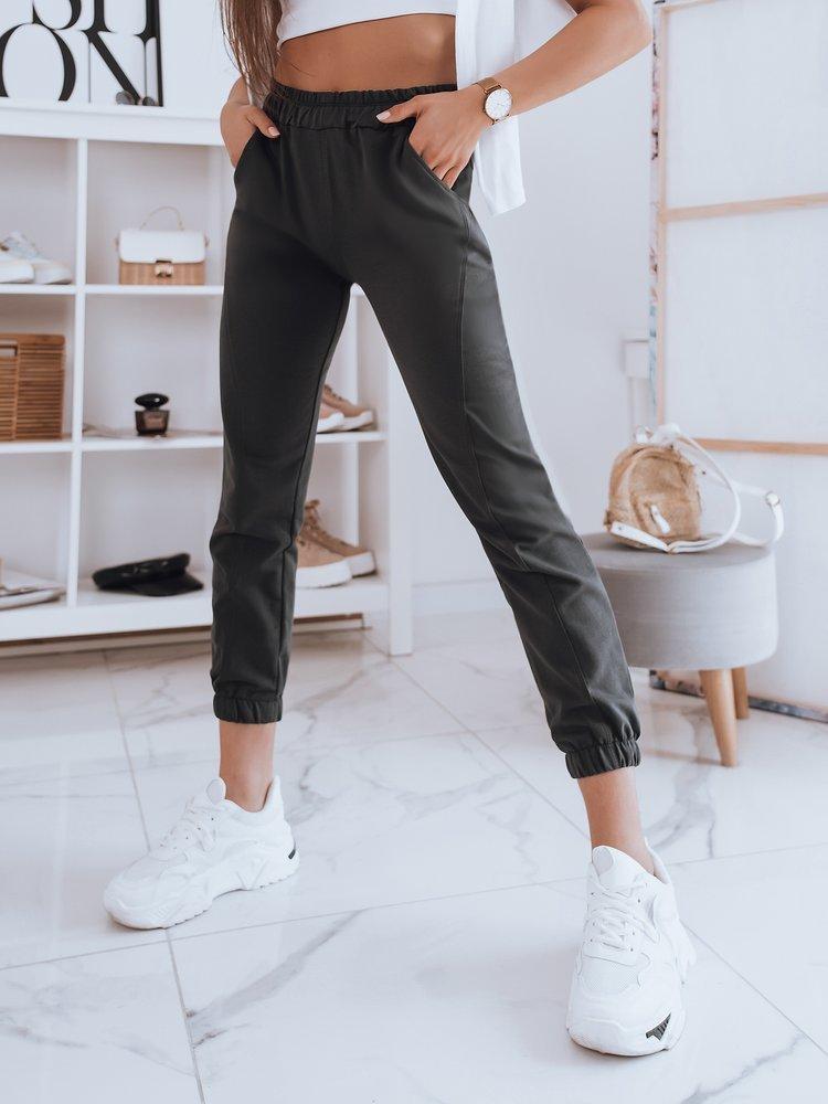Spodnie damskie dresowe STIVEL grafitowe Dstreet UY0911