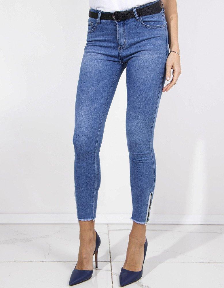 Spodnie damskie jeansowe UY0155