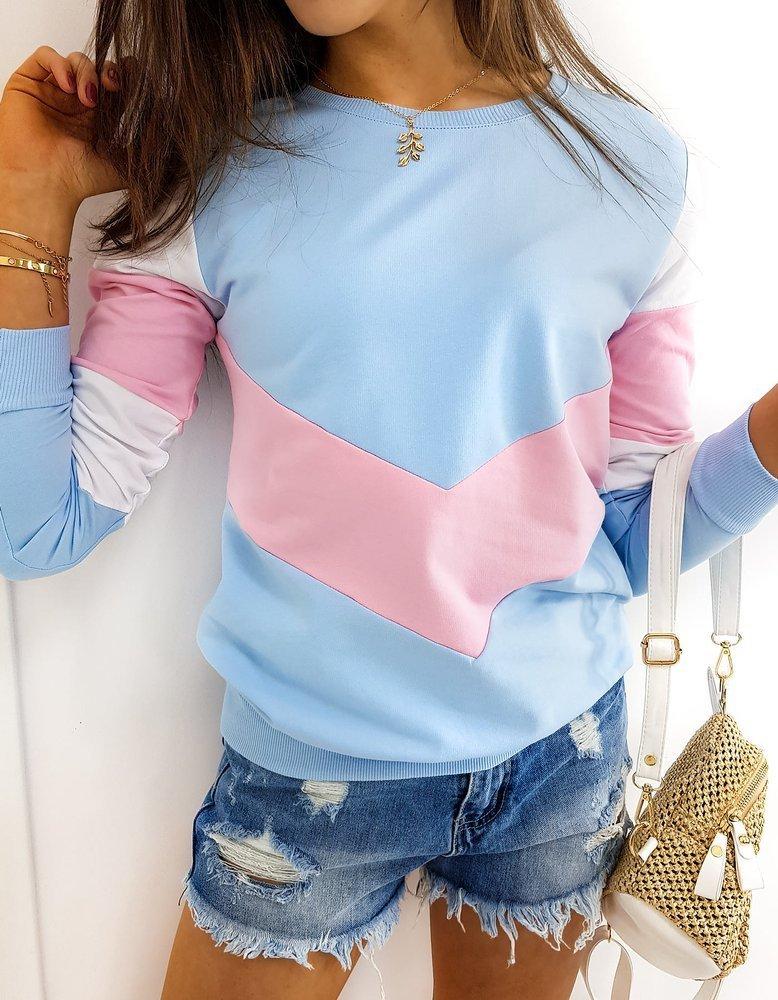 Bluza damska TRIOFLEX błękitna BY0367