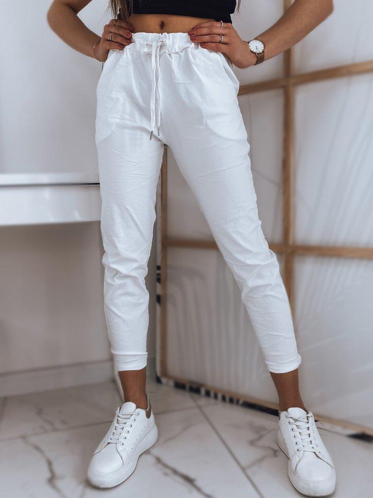 Spodnie damskie OLSENA białe UY0771