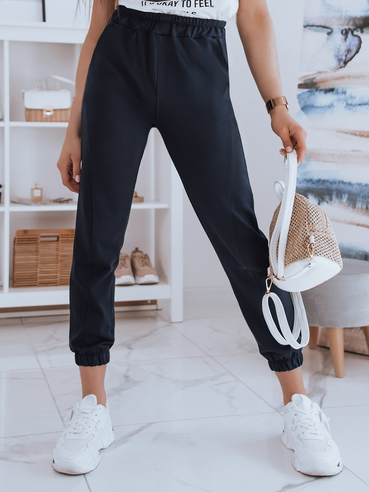 Spodnie damskie dresowe STIVEL granatowe Dstreet UY0921