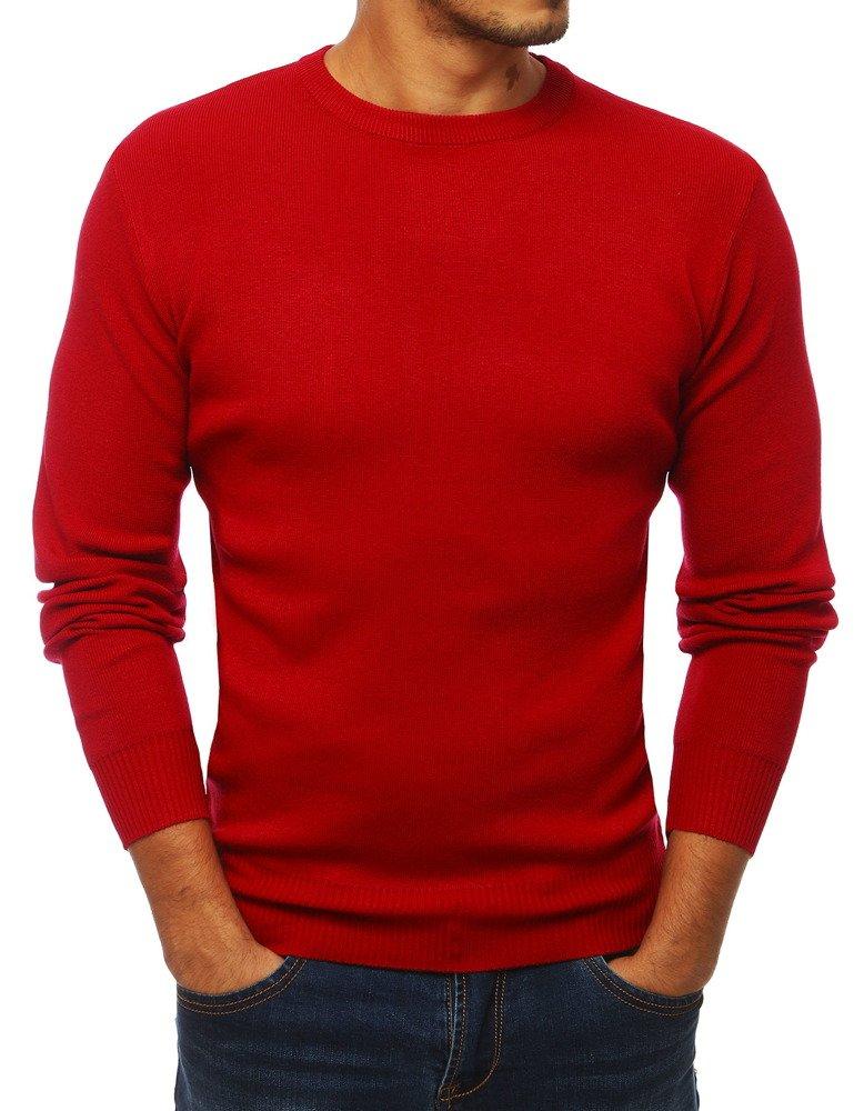 Pánsky sveter červený