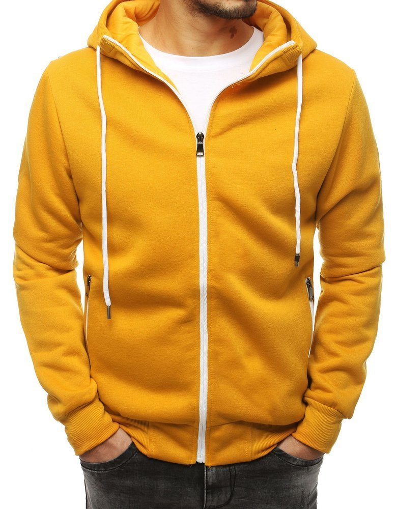Panská mikina žltá