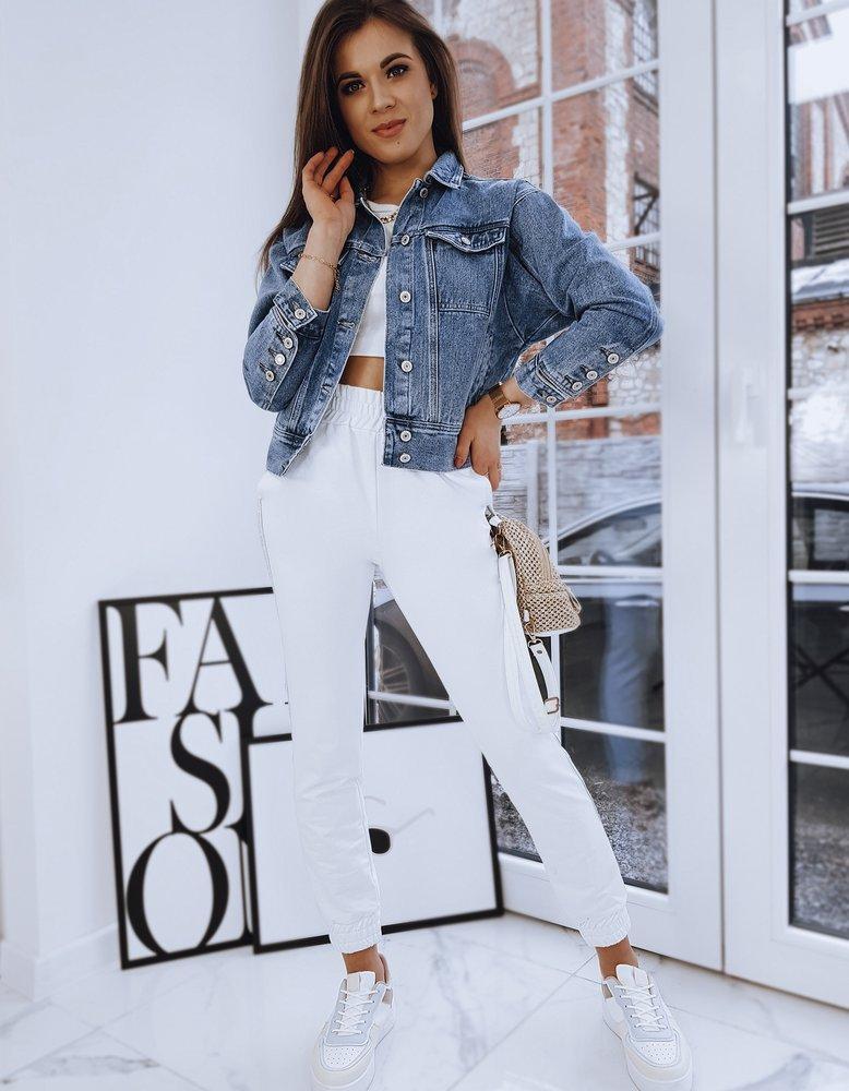 Kurtka damska jeansowa NERIO niebieska TY1672