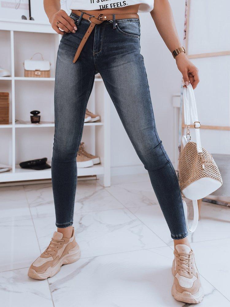 Spodnie damskie jeansowe JIMMY niebieskie Dstreet UY0845