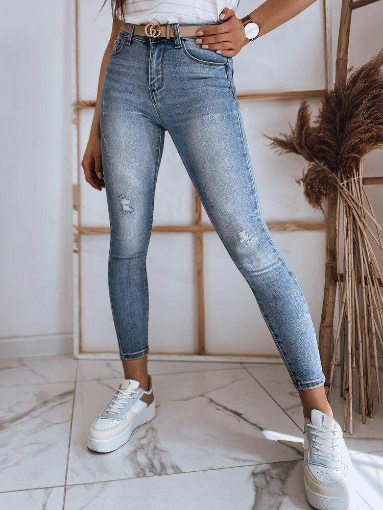Spodnie damskie jeansowe TALION niebieskie Dstreet UY0878