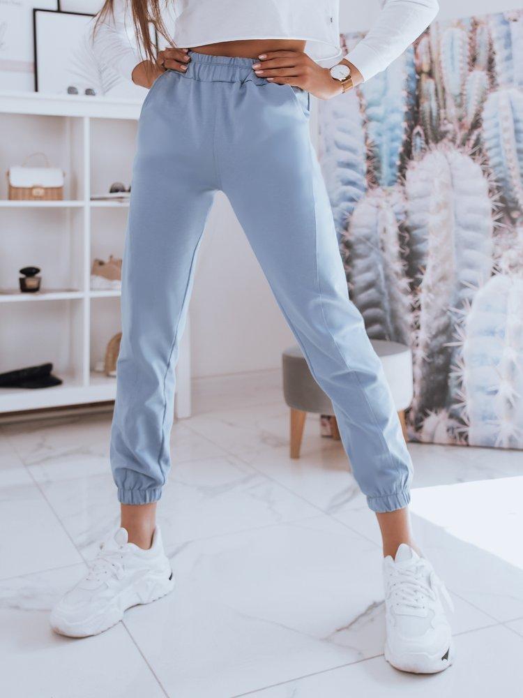Spodnie damskie dresowe STIVEL niebieskie Dstreet UY0931