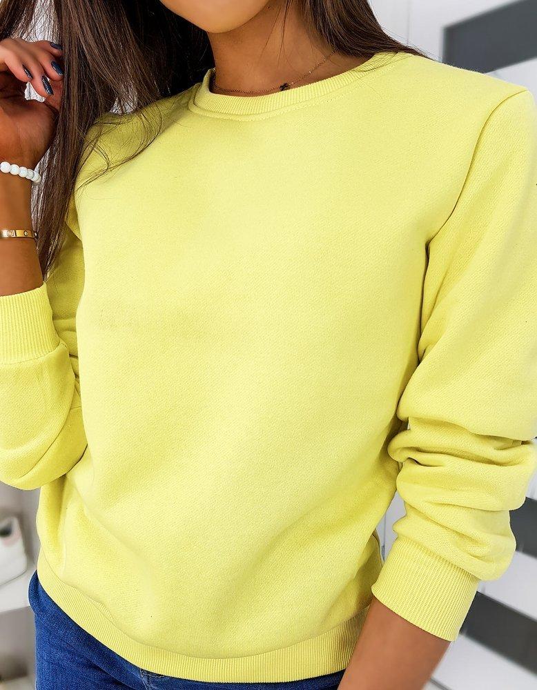 Bluza damska FASHION II żółta BY0316