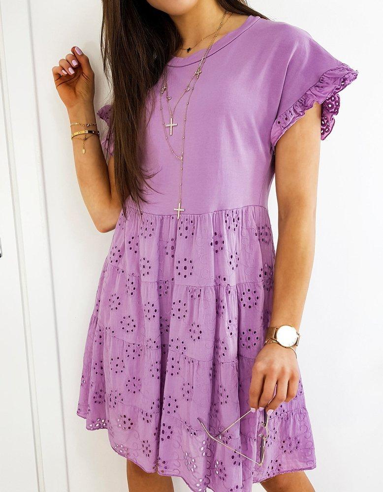 Fialove šaty